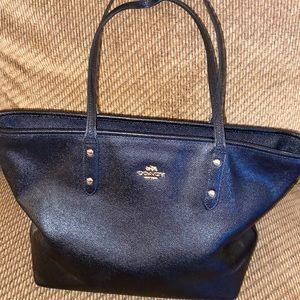 Black Coach Handbag.